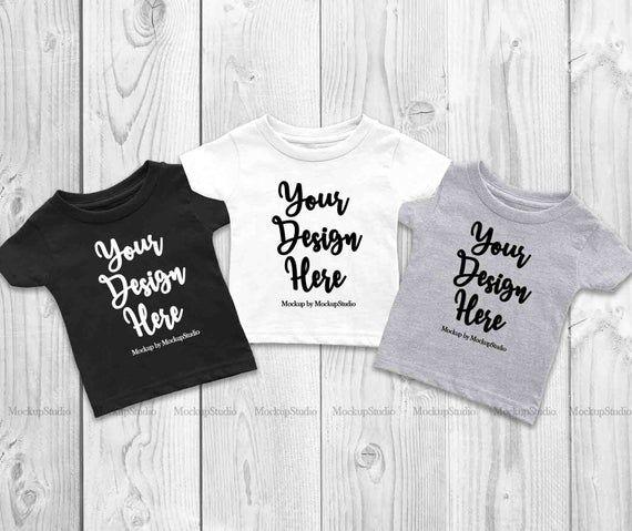 Download 3 Colors Infant T Shirts Mockup Baby Group Cousins Siblings Etsy Shirt Mockup Design Mockup Free Tshirt Mockup