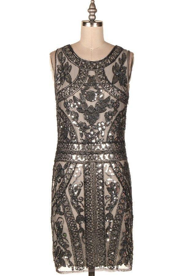 Tiara Sequin Dress
