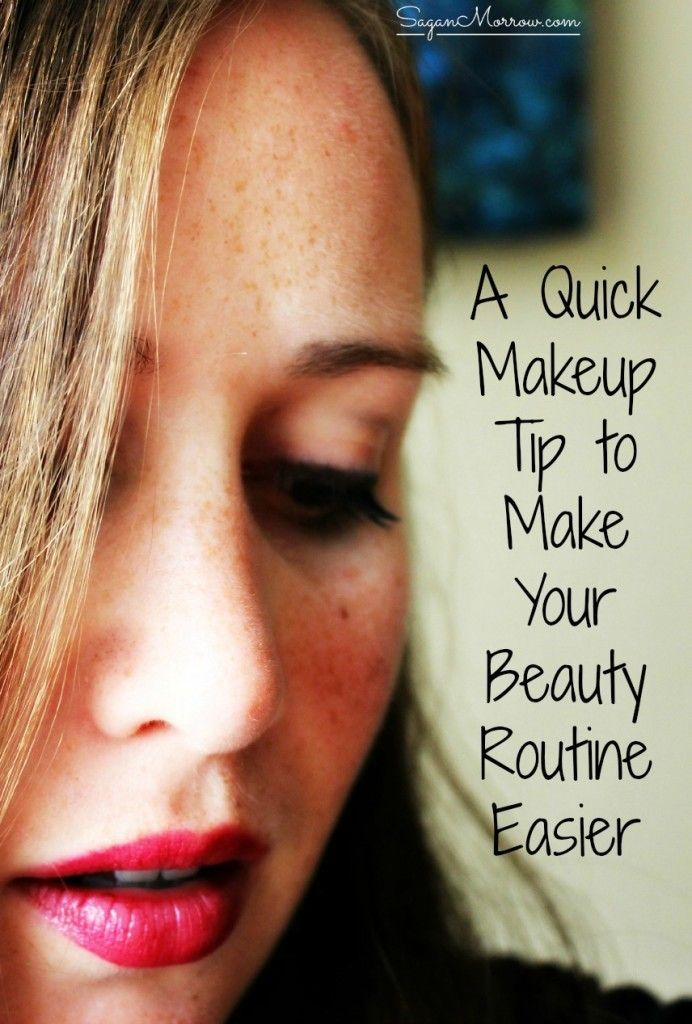 Beauty Routine Skin Care - This quick makeup tip will make your morning beauty routine run so much smoother! If you arent already doing this, you will DEFINITELY want to start. Save yourself frustration and make your life so much easier and smoother with this simple beauty tip. Click on over to get it now or Pin for later! ::: makeup ideas ::: beauty tips ::: A good exfoliation is essential to clean the skin and eliminate dead cells. This prevents dirt from clogging pores and acne or b...