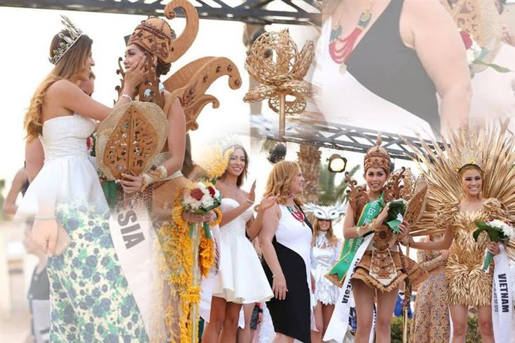 Miss Eco Dress Competition winners of Miss Eco International 2017