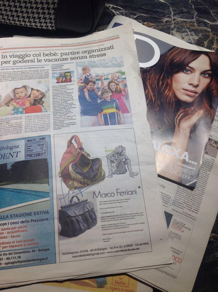 Pubblicazione su Repubblica, Giugno 2015