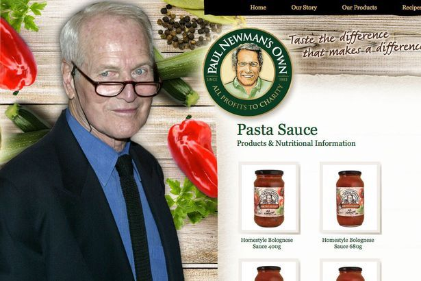 Paul-Newman-Pasta-main.jpg (615×410) -- A food company founded by actor Paul Newman and author A.E. Hotchner in 1982 has raised more than £300 million for charity.