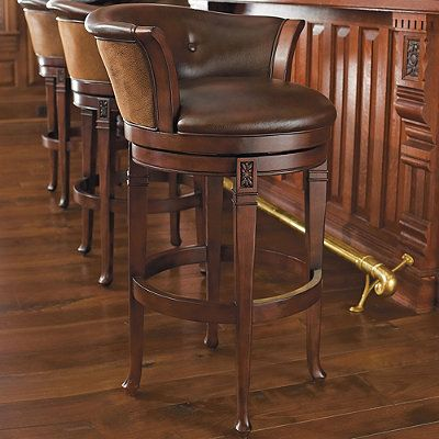 Cantle Back Bar Stool Frontgate