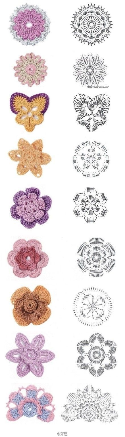 # Crochet Graphic # ฤ ...... _ images from chz850726 share - heap Sugar