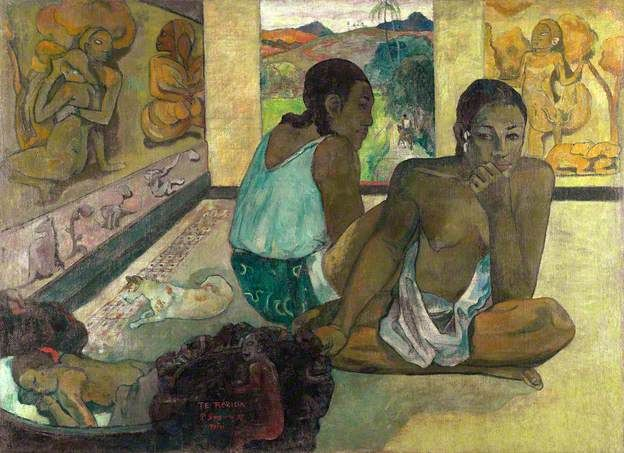 Te Rerioa by Paul Gauguin The Courtauld Gallery