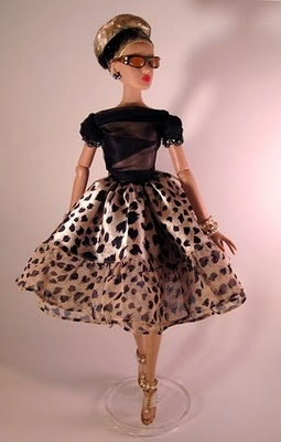 cuteDal Dolls, Animal Prints Barbie, Design Competition, Design Challenges, Couture Dolls, Dal Lowenbein, Barbie Dolls, Dolls Design, Collection Dolls Barbie