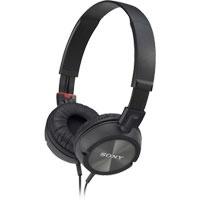 Sony ZX Series Stereo Headphones (Black) (MDRZX300BLK)