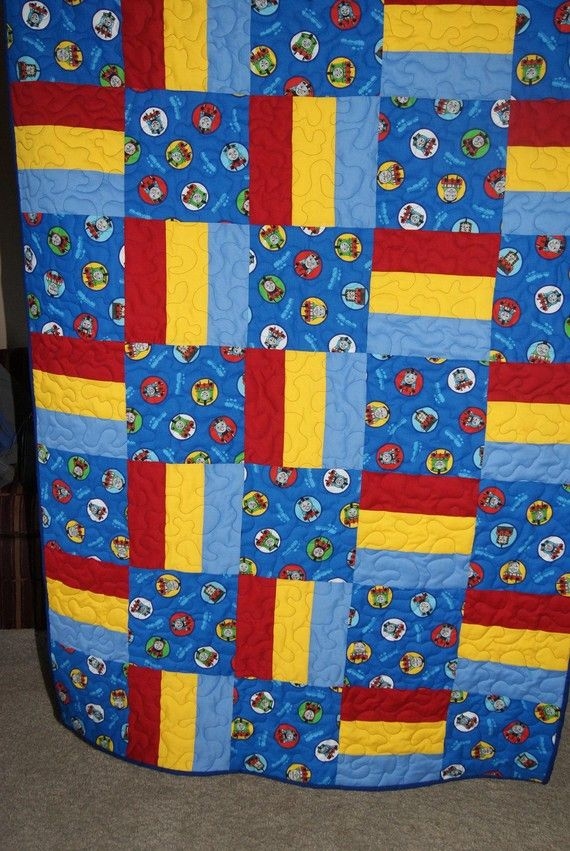 73 best quilt thomas train images on pinterest train for Kids train fabric