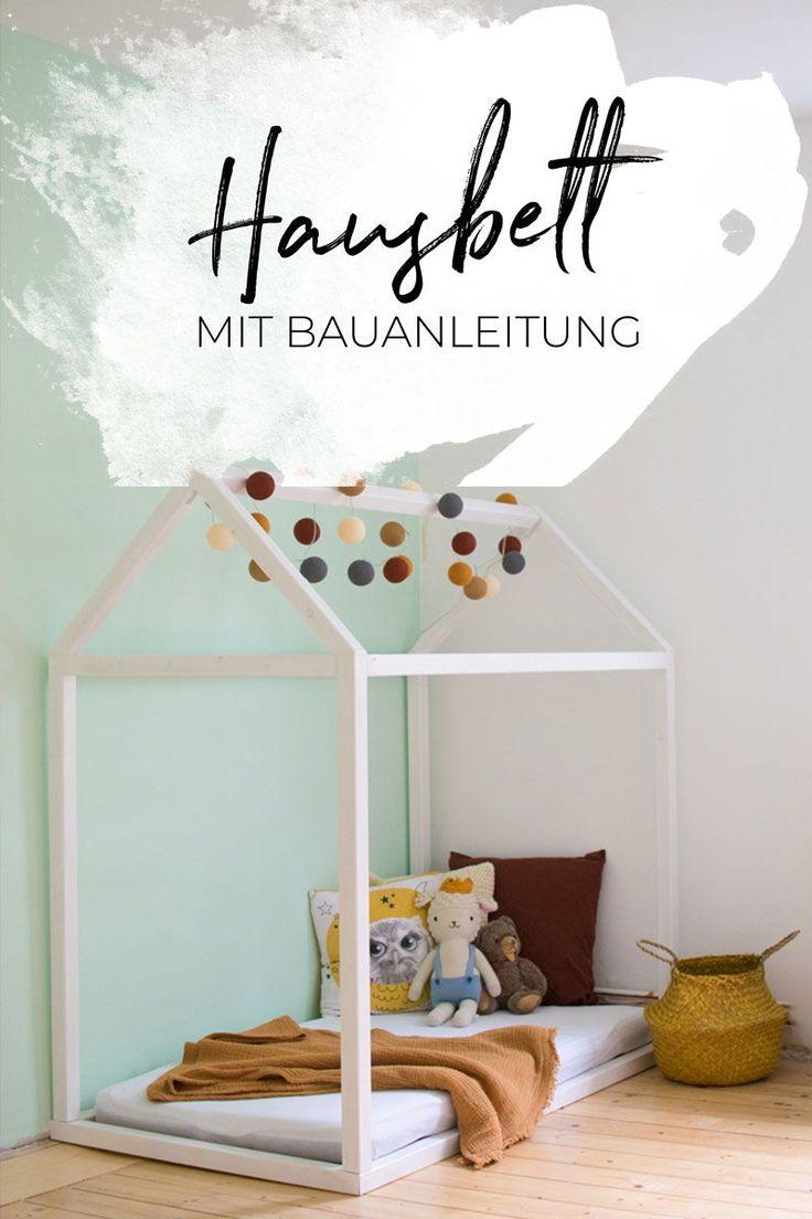 Hausbett selbst bauen | Bauanleitung für ein Kinder Floor Bed  Attachment Paren…