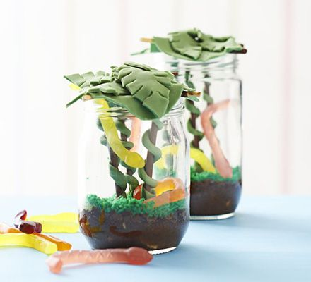 Chocolate jungle jam jar | BBC Good Food