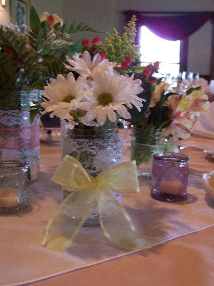 22 best rehearsal dinner images on pinterest dinner for Wedding dinner table decoration ideas