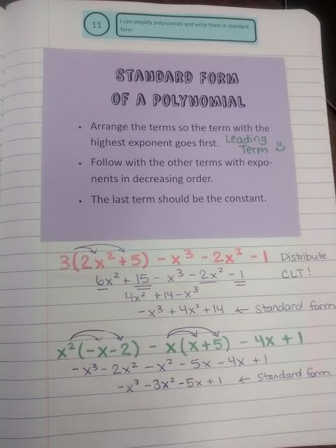 Math = Love: Emphasizing Polynomial Vocabulary