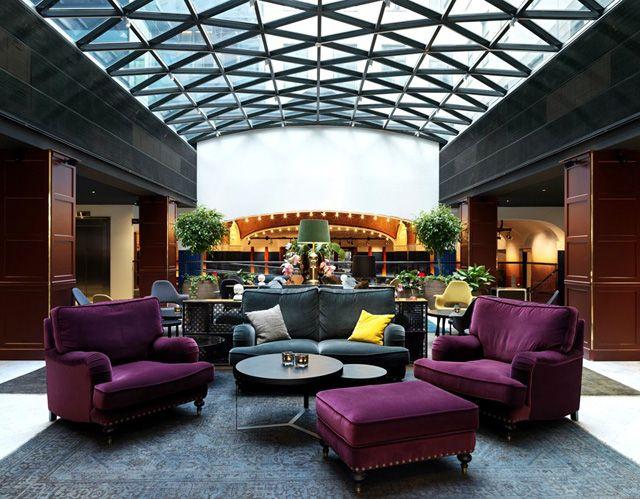 Scandic Grand Central Hotel in Stockholm. |»: Hotel Interiors, Stockholm, Interiors Hotels, Grand Central, Design