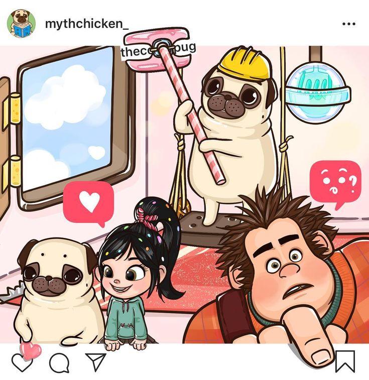 "米絲肉雞 ᎷYᎢᎻᎾᏞᎾᏩY on Instagram: ""2018.12.14 - 看到Vanellope跟Ralph這個組合每次都讓我想歪 </p> </div><!-- .entry-content -->    </article><!-- #post-## -->  <nav class="