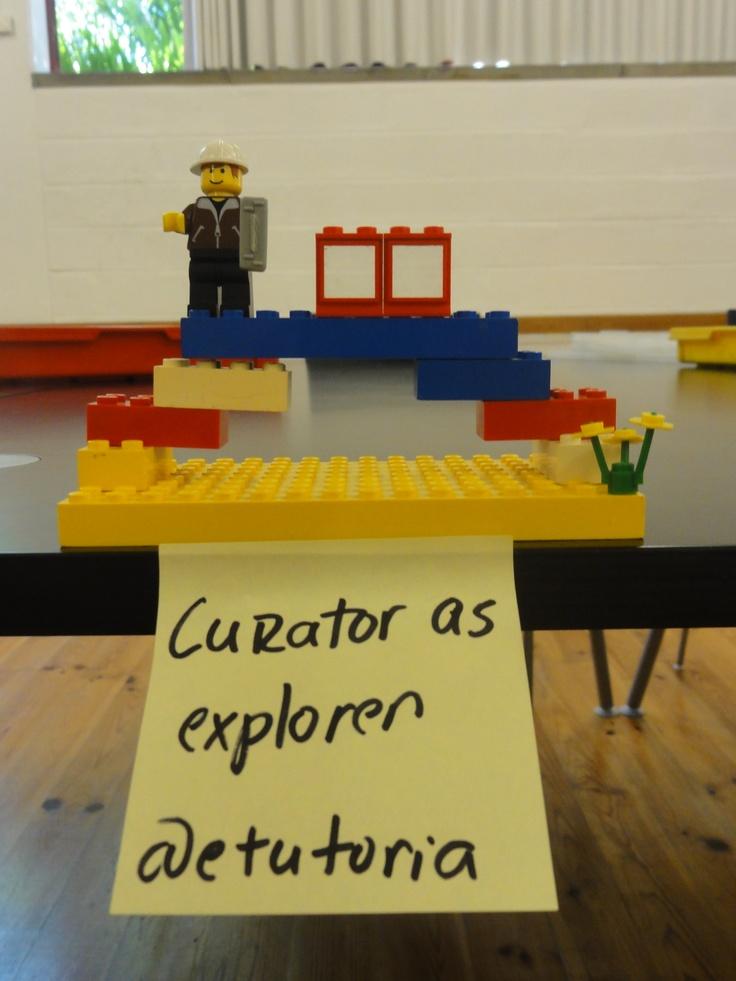 Content curator as explorer