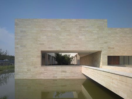 David Chipperfield Architects - the Liangzhu Culture Museum at Hangzhou, China.