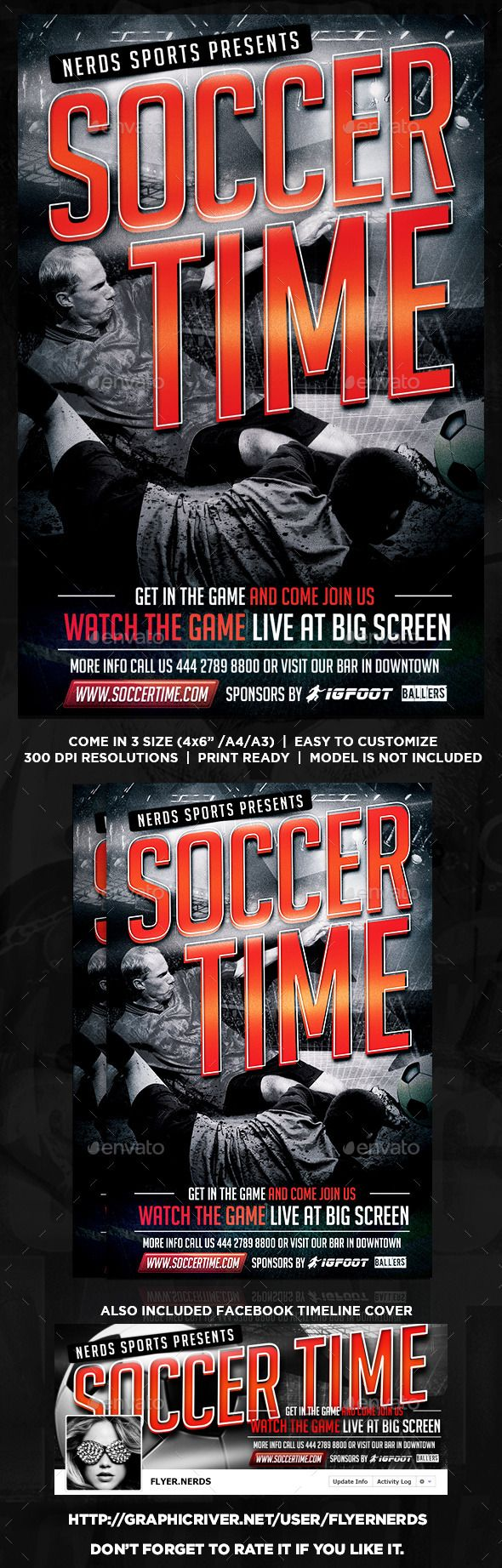 Soccer Competition Flyer