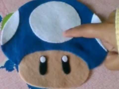 FIELTRO HONGO MARIO BROS (PLUSH)