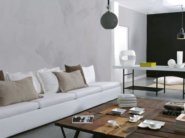 Best 25 peinture effet beton ideas on pinterest peinture beton cuisine sarcelle and armoires for Peinture sol effet beton