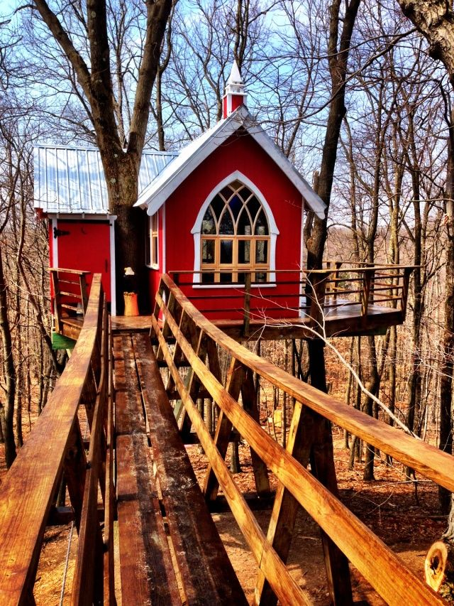 Amish built rustic #cabins and tree houses! #TheMohicans #Ohio ...