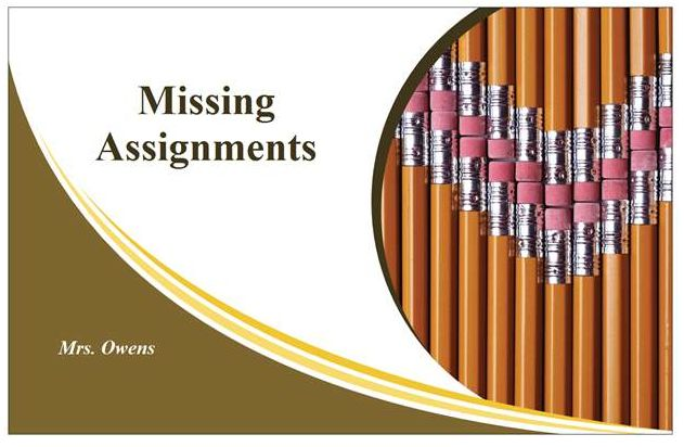 MISSING ASSIGNMENTS - Google Search