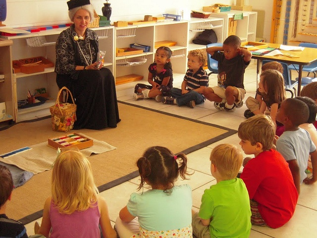 Maria Montessori Visits The Classroom