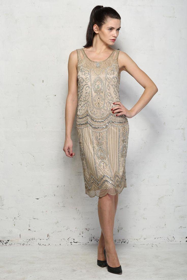Beste 20s Stil Prom Kleid Ideen - Brautkleider Ideen - cashingy.info