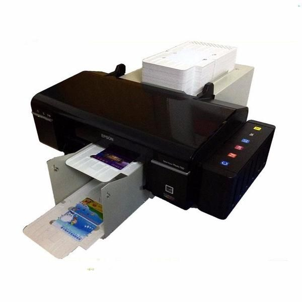 China Automatic Inkjet Pvc Plastic Card Printer For Id Card
