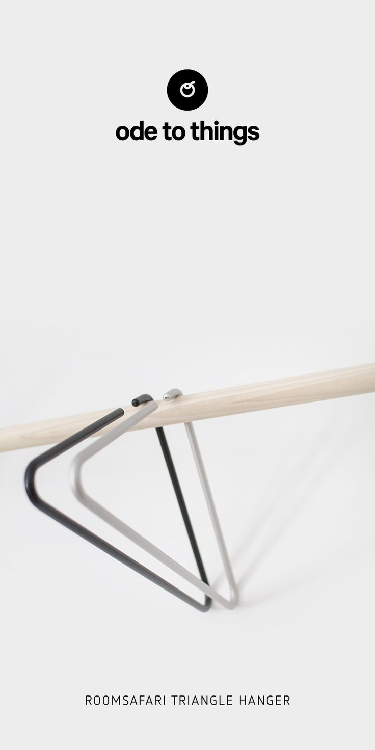 Knoll life chair geek - Roomsafari Triangle Hanger