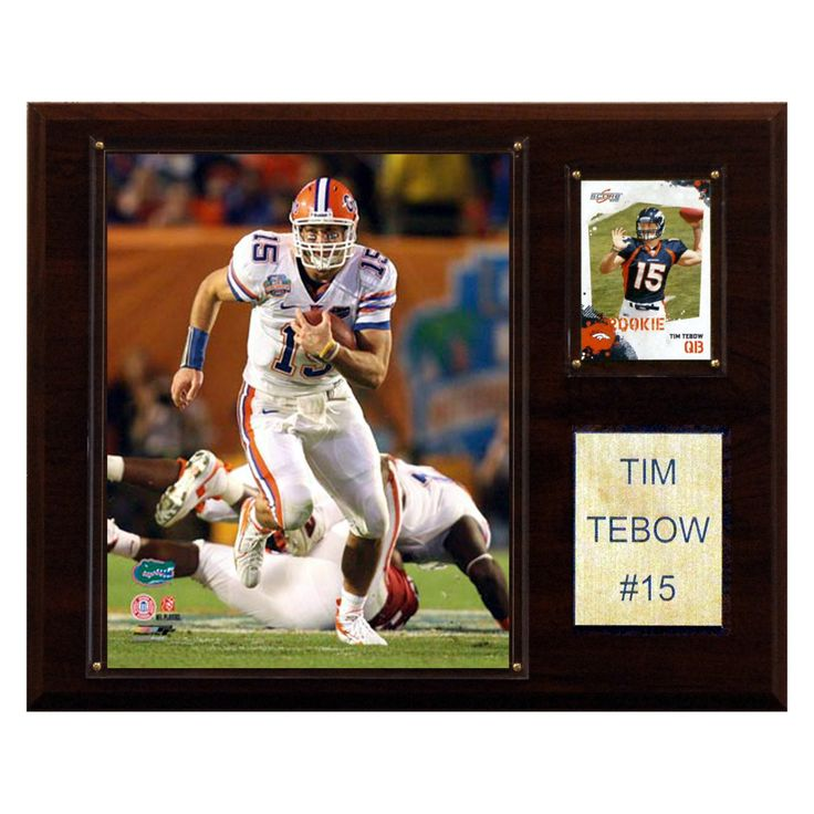 NCAA 12 x 15 in. Football Tim Tebow Florida Gators Player Plaque - 1215TEBOWC
