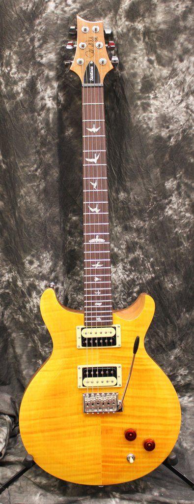 Paul Reed Smith PRS SE Santana Signature Electric Guitar Santana Yellow w/Gigbag