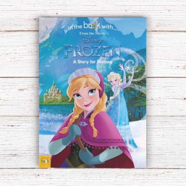 Personalised Children's Book - Disney Frozen | GettingPersonal.co.uk