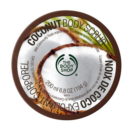 Reveal softer, glowing skin with gently-exfoliating coconut husks and ground coconut shells in a creamy, moisturizing scrub made with pure Community Trade organic cold-pressed virgin coconut oil.