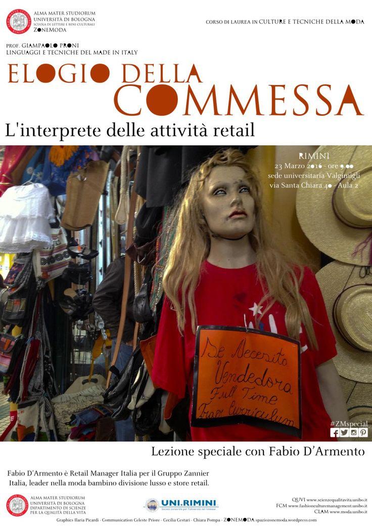 Elogio della commessa. L'interprete delle attività retail. Lezione Speciale con Fabio D'Armento.