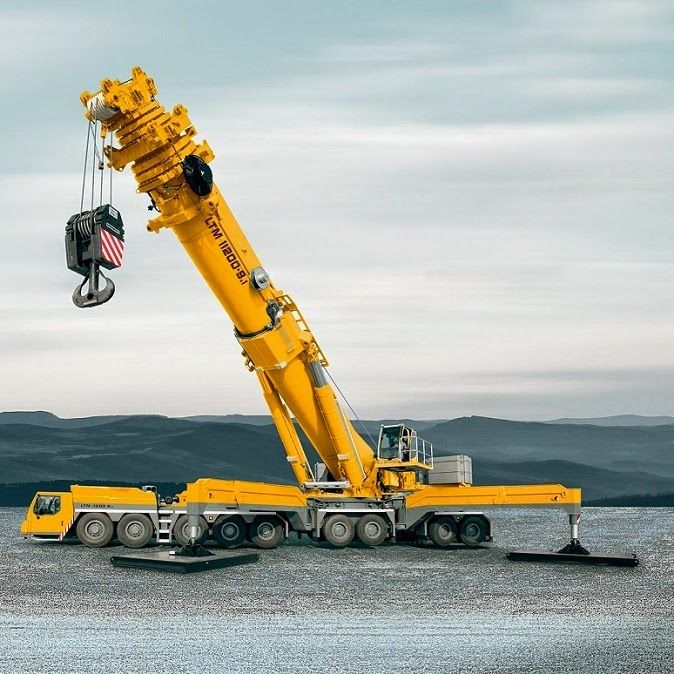Pulleys In Cranes : Best mega machines transports images on