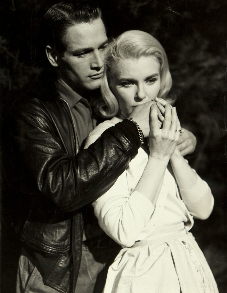 Paul Newman and Joanne Woodward in From the terrace directed by Mark Roy Robson, 1960