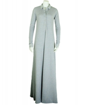 Everyday Abayas | Jilbabs | Jilbaab | Aab | Classic Polo Grey