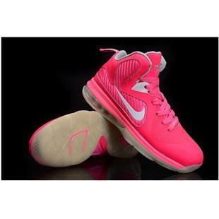 www.asneakers4u.com Nike Zoom LeBron 9 Women Basketball Shoes Pink