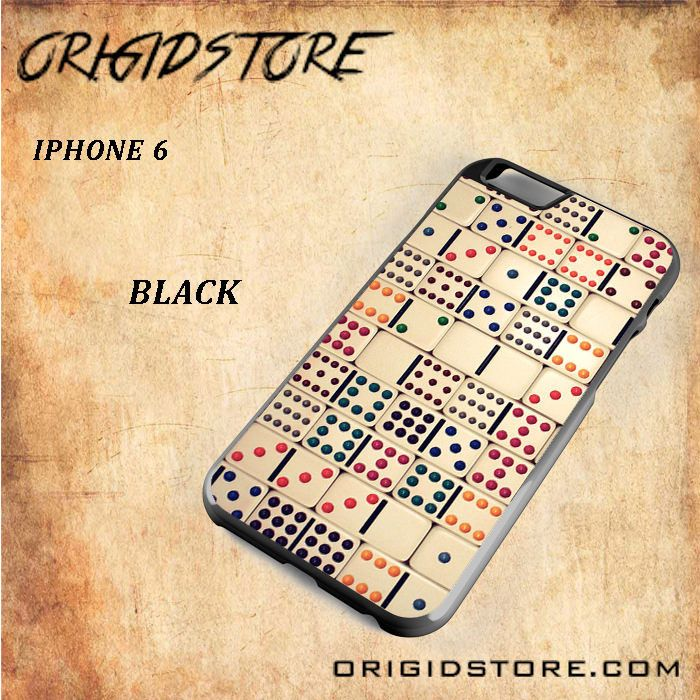 Old Domino Snap on 2D Black and White Or 3D Suitable With Image For Iphone 6 Case