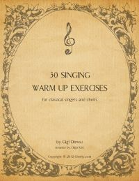 30 free singing warm up exercises for classical singers and choirs