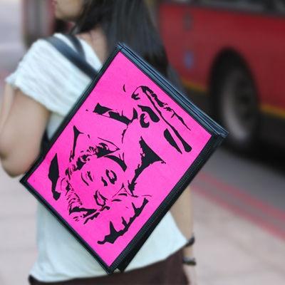 Classic repeats itself!! Sensational Marlyn Monroe tote bag