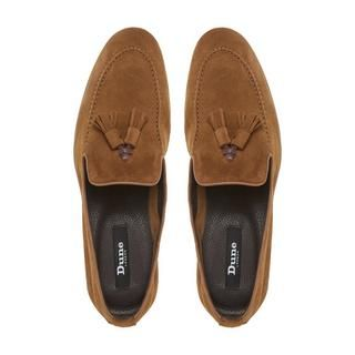 Mix it up this season with this fetching suede tassel loafer. It features a slipper cut design, apron stitching and double tassel detail. This style will look perfect teamed with smart jeans and a fitted shirt.