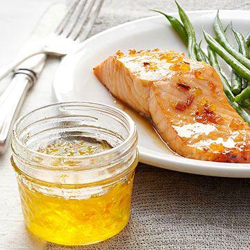 Lemon Jelly. This recipe has no peel, so shouldn't be bitter like marmalade.