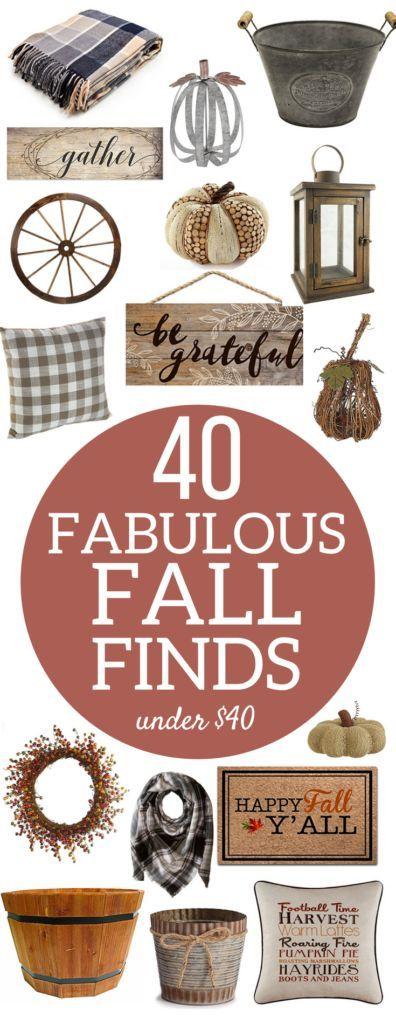 Rustic Farmhouse Fall Home Decor   Budget-friendly…