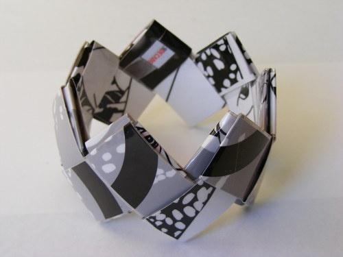 LOTUS paper bracelet