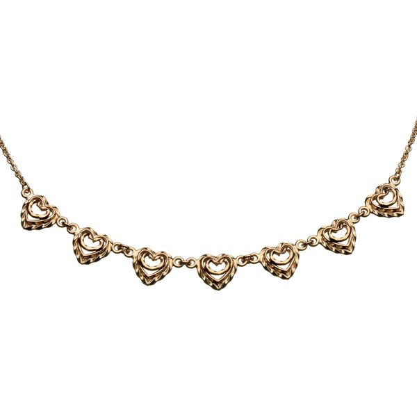 HEART OF THE HOUSE NECKLACE Designer: Tony Granholm, material: 14 carat gold or bronze or silver
