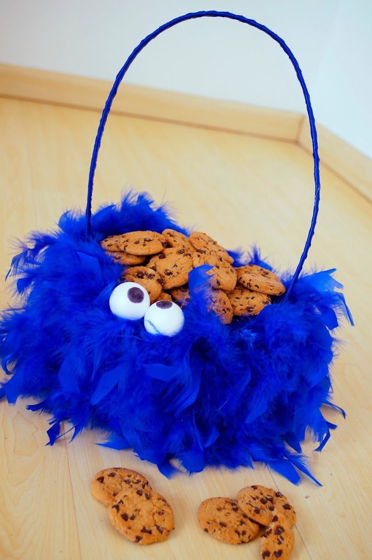 The Joy of Fashion: {Halloween}: Cute Homemade Cookie Monster Costume