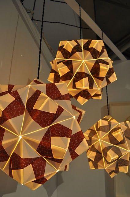 Modular Origami Lamp