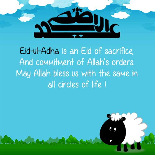 eid ul adha quote picture