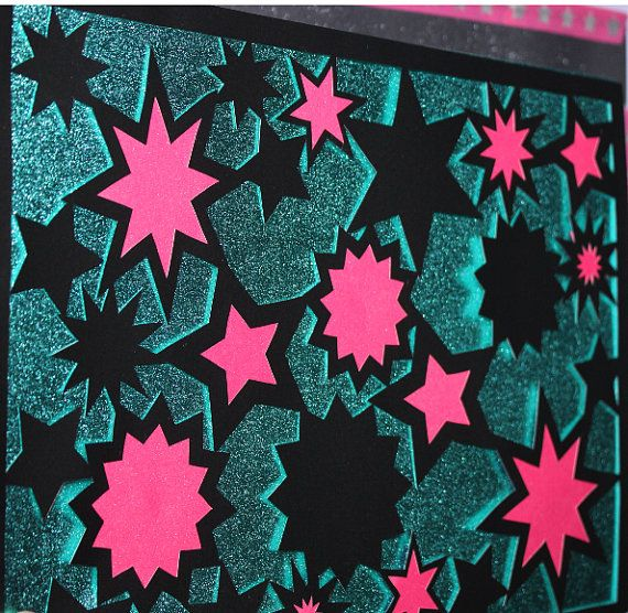 a downloadable stars papercutting papercut template, perfect for beginners to papercutting or great if you are more advanced and fancy a go at infilling a papercut